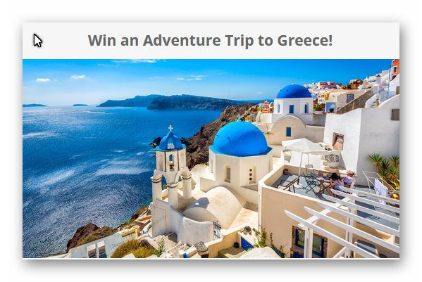 Win an Adventure Trip to Greece