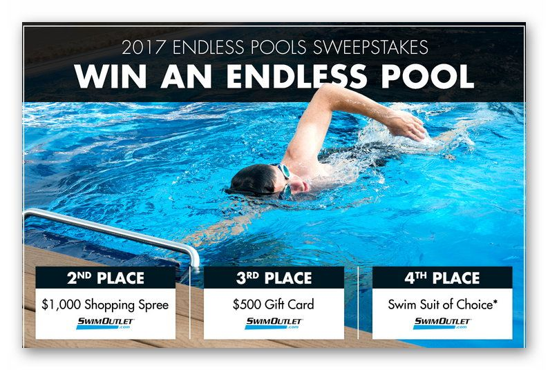 2017 ENDLESS POOLS SWEEPSTAKES