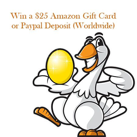 Win a $25 Amazon Gift Card or Paypal Deposit (worldwide)