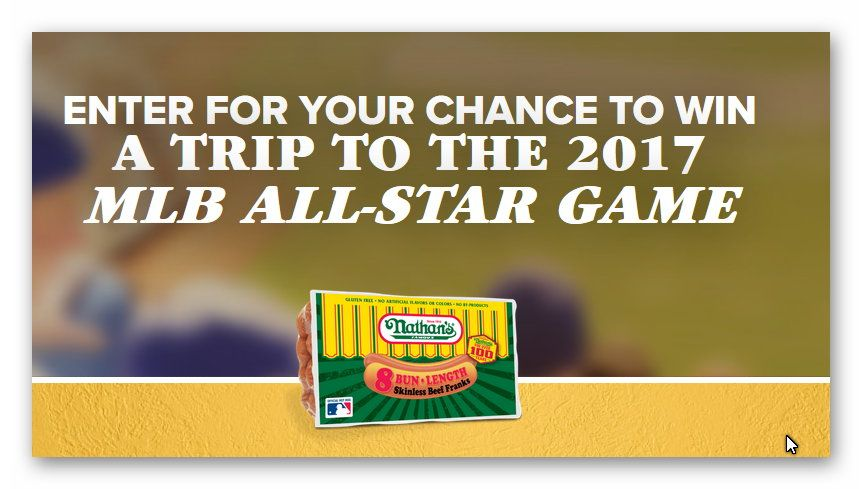 Enter for your chance to win a Trip to the 2017 MLB All Star Game