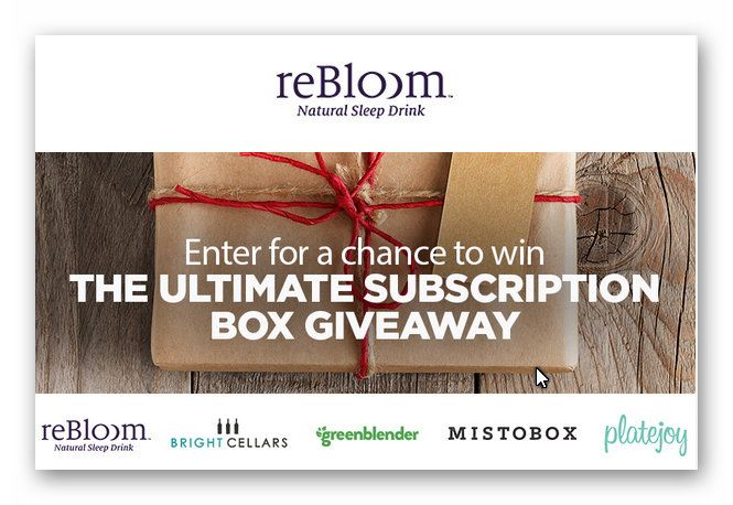Ultimate Subscription Box Giveaway