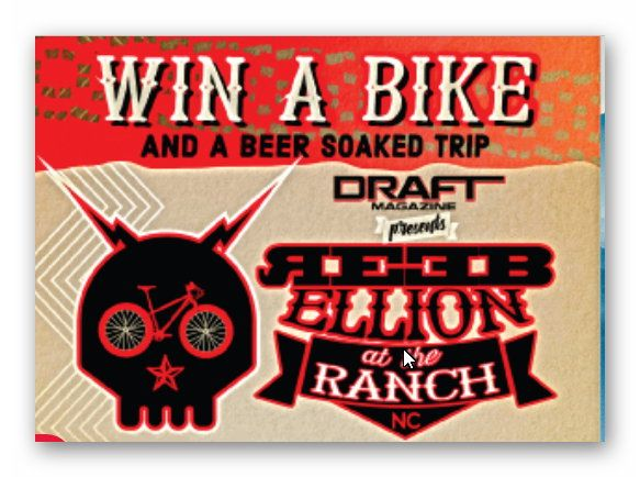Win a Bike and a Beer Soaked Trip