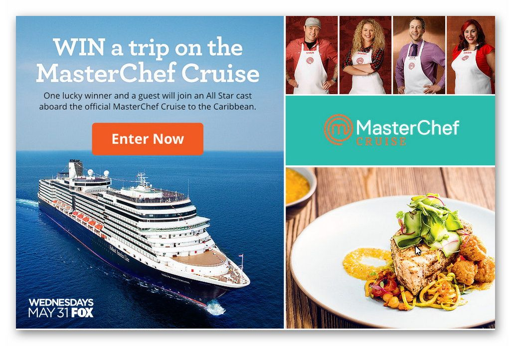 Win a Trip on the Master Chef Cruise
