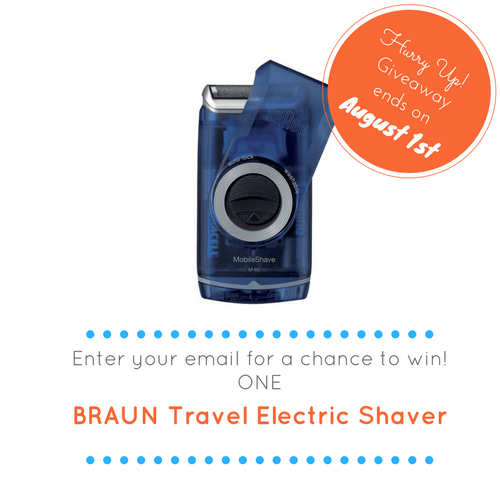 Win a Braun Travel Electric Shaver