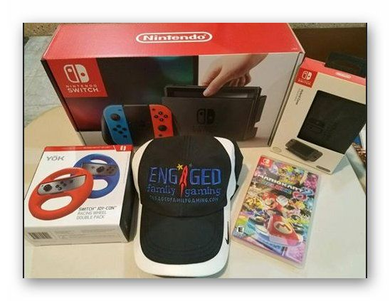 Nintendo Switch Mario Kart 8 Deluxe Bundle w/ 2 year protection plan