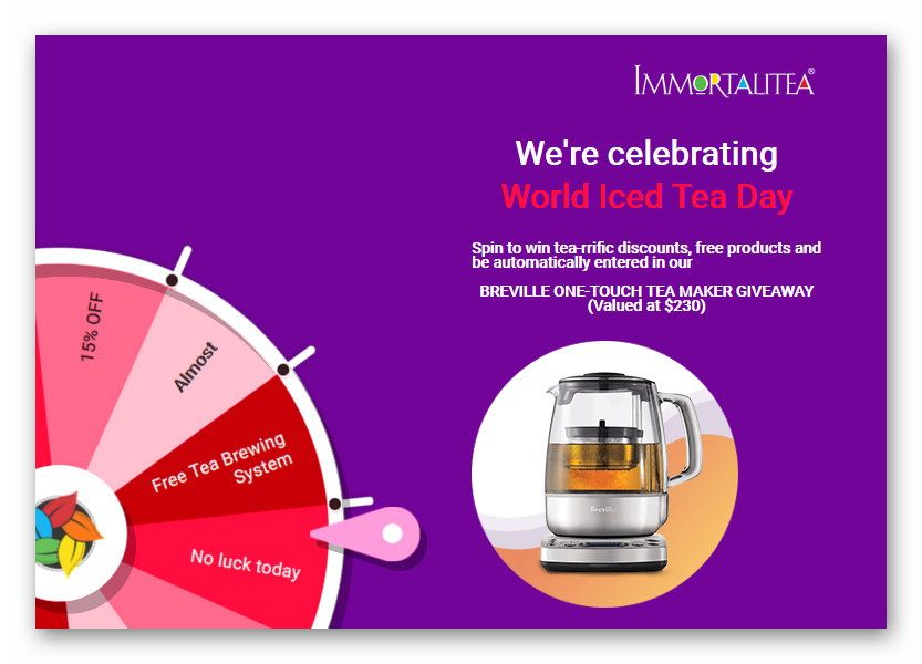 Win 1 of 3 iBreville One-Touch Tea Makers