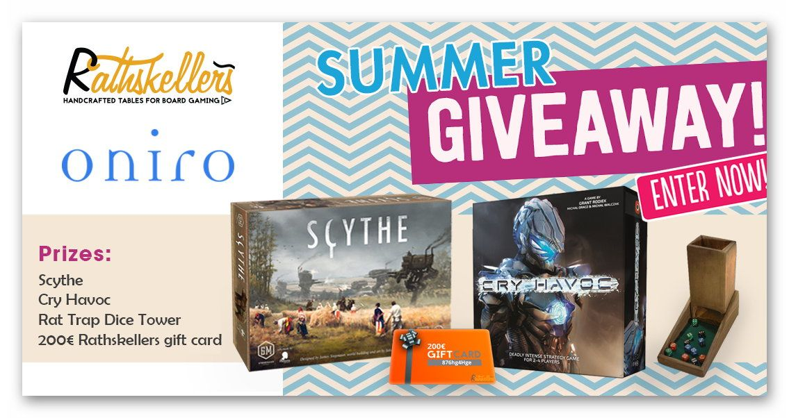 Rathskellers and Oniro Summer Giveaway Contest