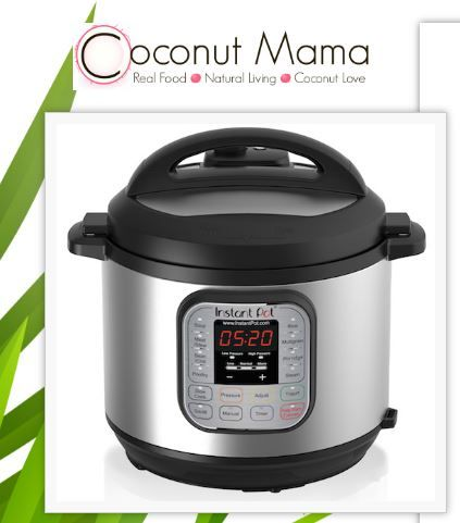 COCONUT MAMA INSTANT POT GIVEAWAY