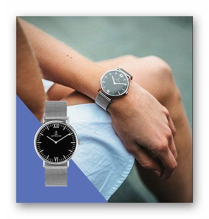 Win a Kapten + Son Mesh Collection Watch