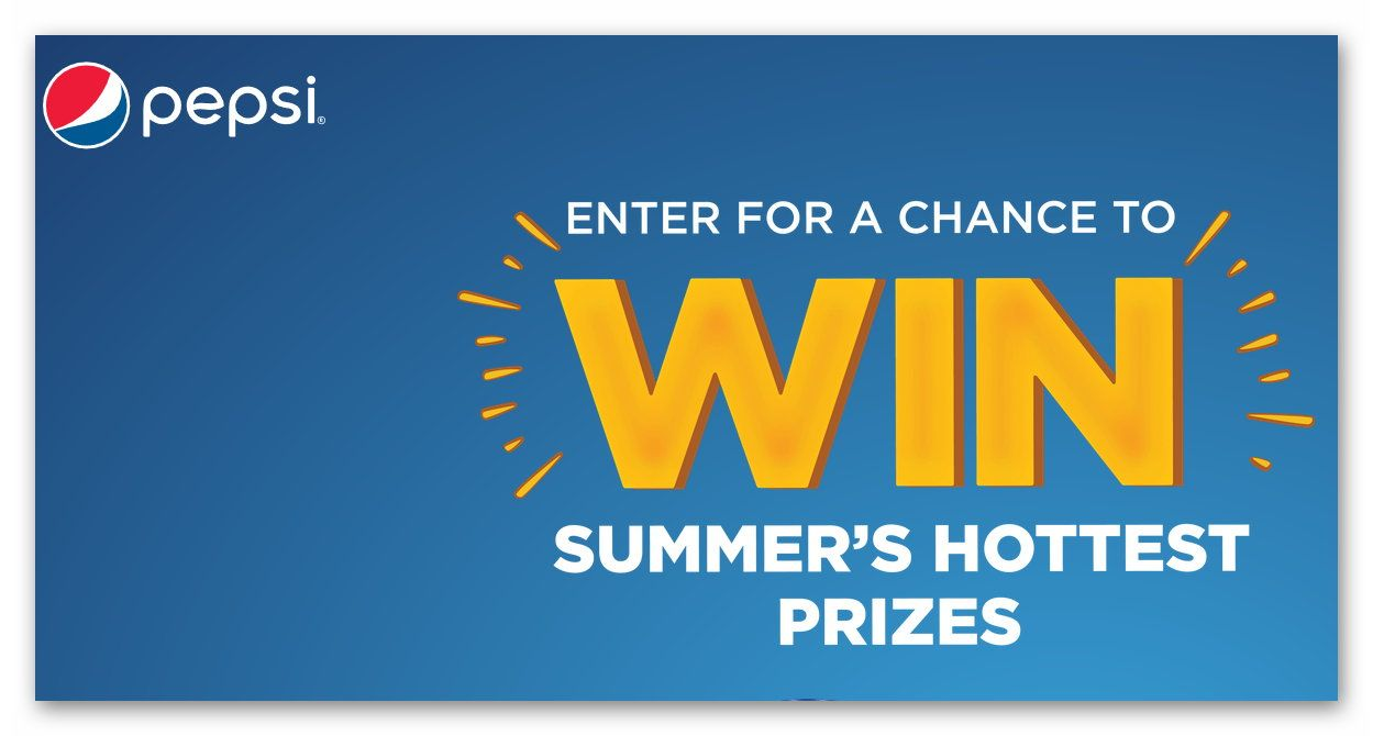 Pepsi Fire Get it While it's Hot Sweepstakes