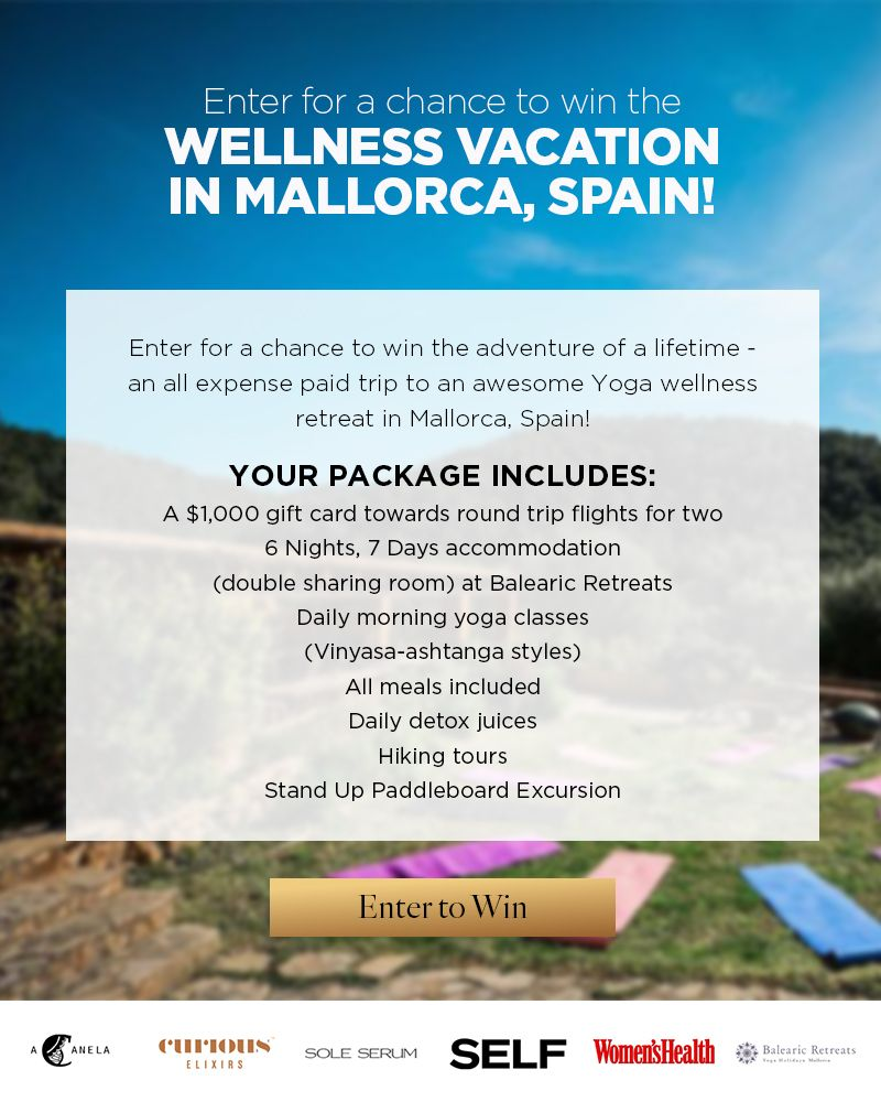 Win a Wellness Vacation to Mallorca, Spain