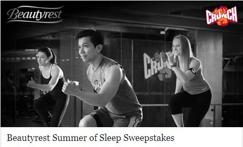 Beautyrest Summer of Sleep Sweepstakes