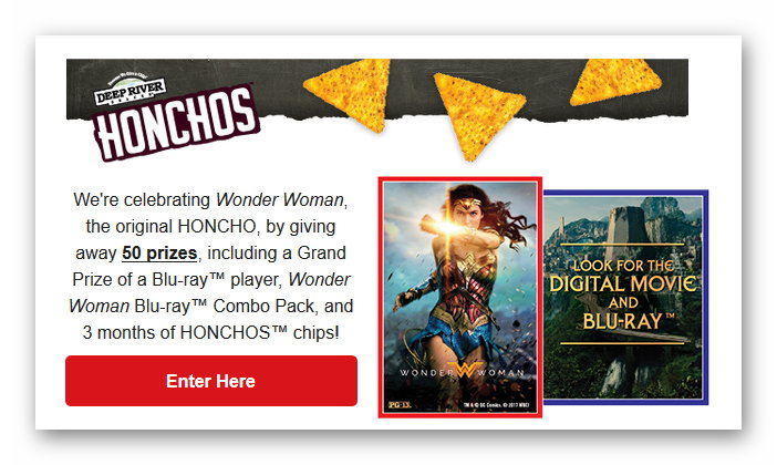 Wonder Woman Giveaway