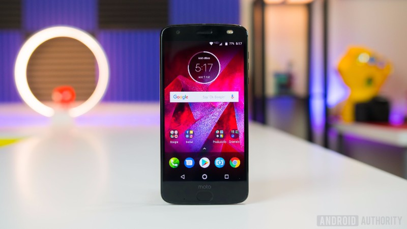 Android Authority - Moto Z2 Force Smartphone