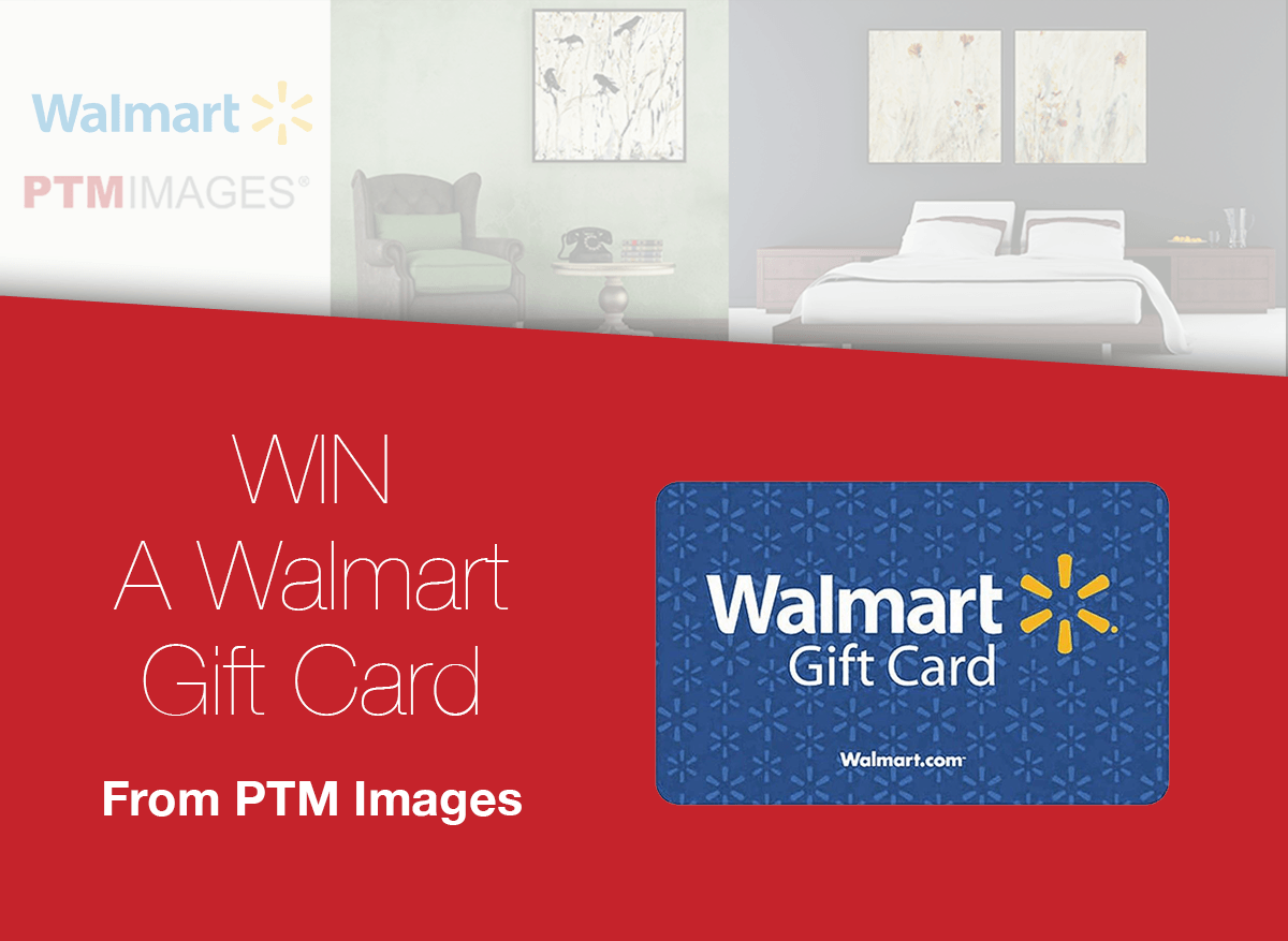 PTM Images Walmart Gift Card Giveaway (4 winners) – Ends Sept 15th - Golden  Goose Giveaways