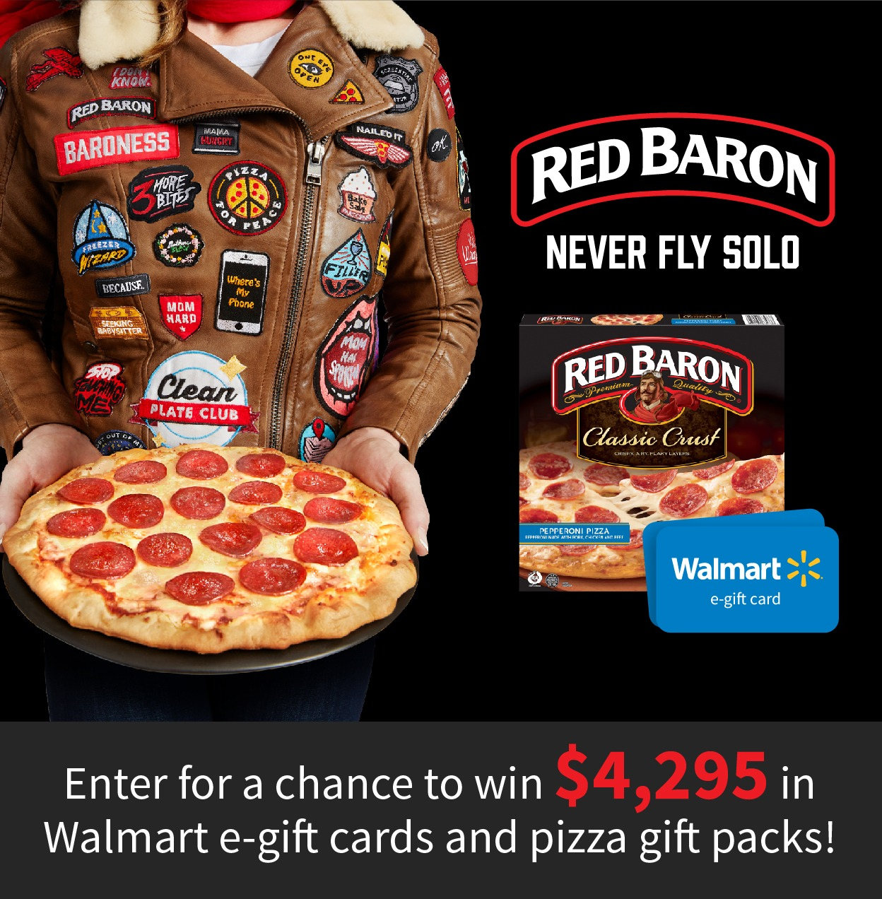 Red Baron #BaronessPatches Sweepstakes