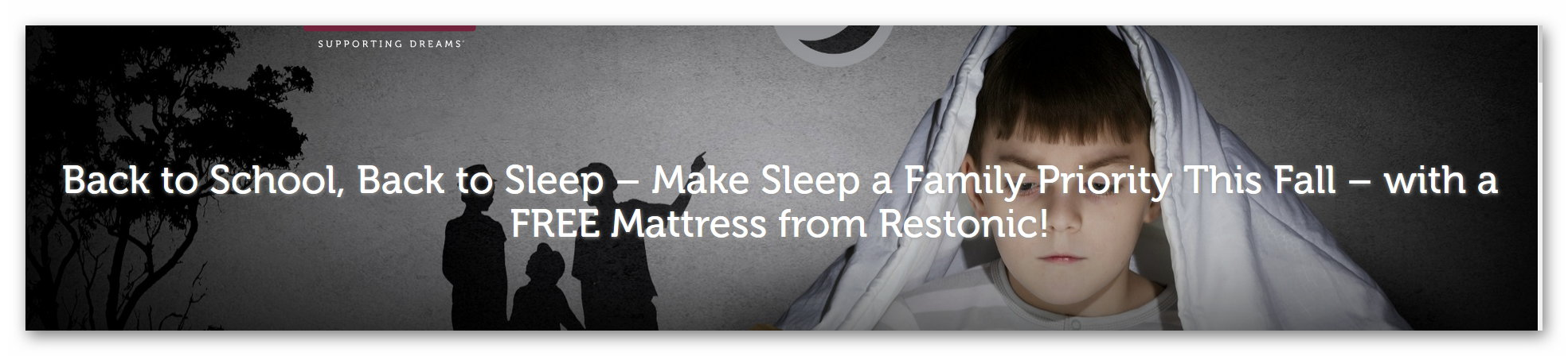 Win a Restonic Mattress