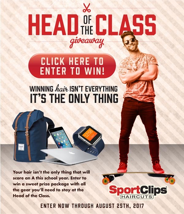 Sport's Clips Head of the Class Giveaway