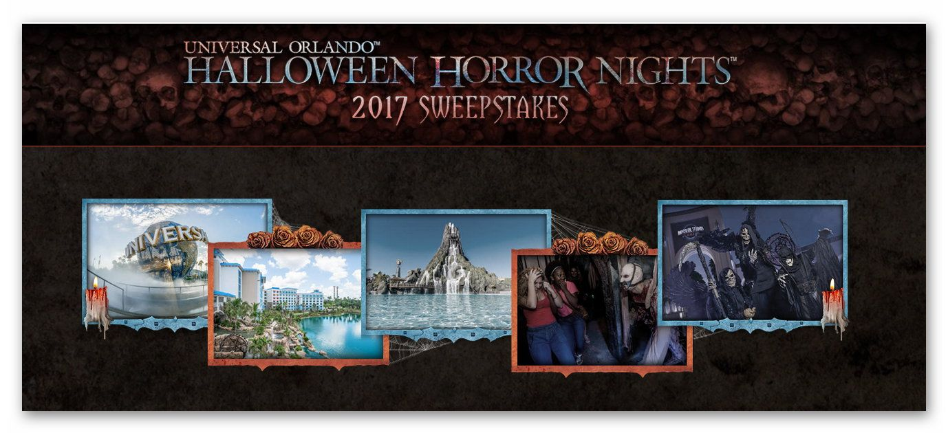 Universal Orlando Halloween Horror Nights Sweepstakes