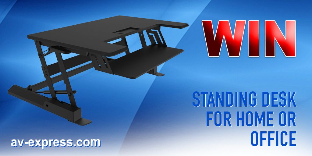 Win a Standing Desk for Home or Office