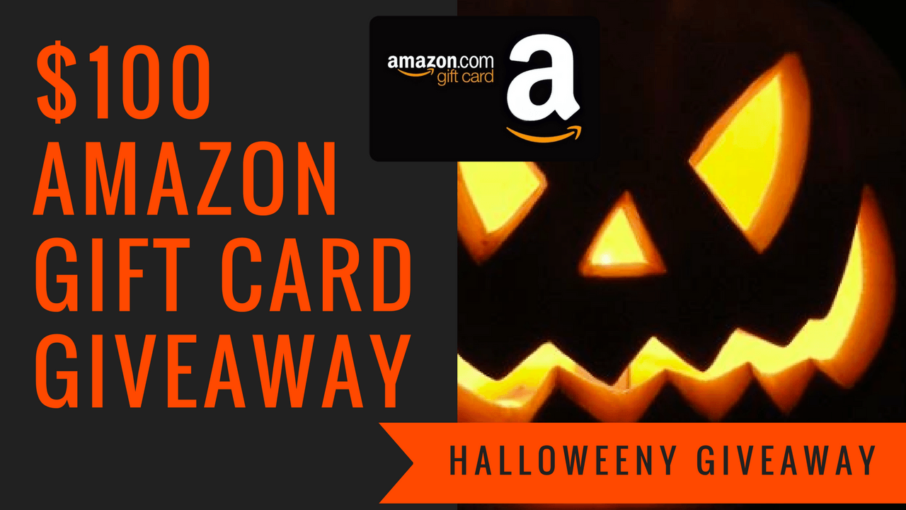 Halloweeny Giveaway -Win a $100 Amazon Gift Card