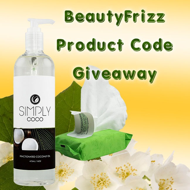 Win 99% off Amazon codes for Beauty Frizz Coconut Oil and Green Tea Wipes