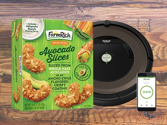 Win a Self-Vacuuming Robot & Farm Rich Avocado Slices
