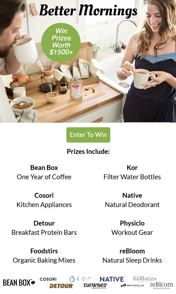 Bean Box – Better Morning Sweepstakes