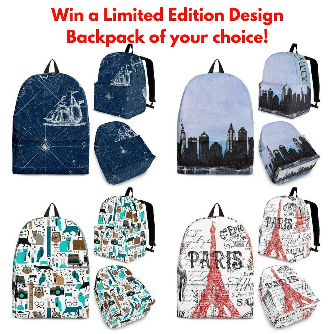 Shopeholic Limited Edition Design Backpack Giveaway