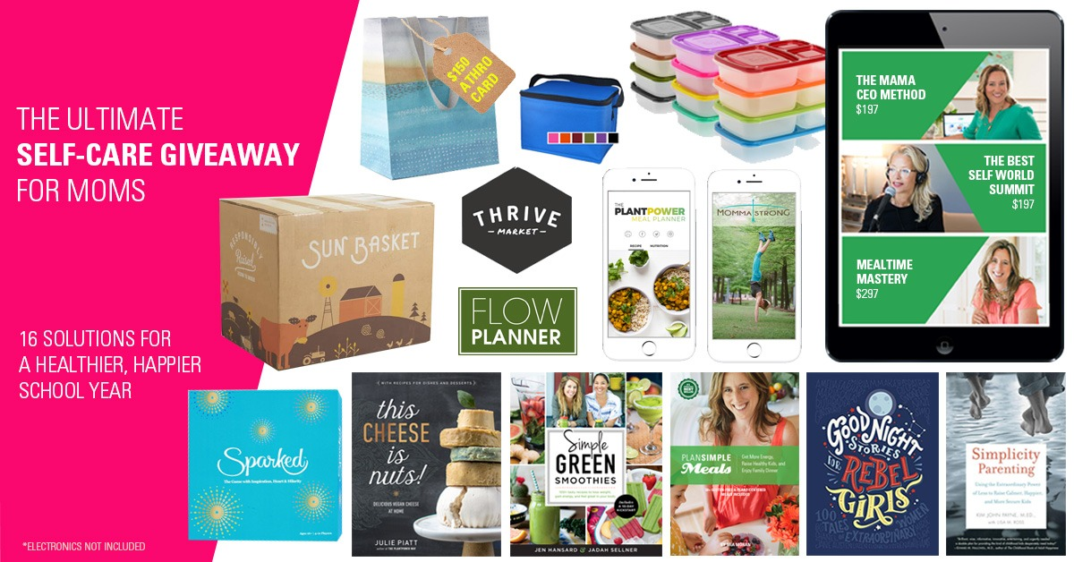 Simple Meals - Self Care Prize Pack Giveaway