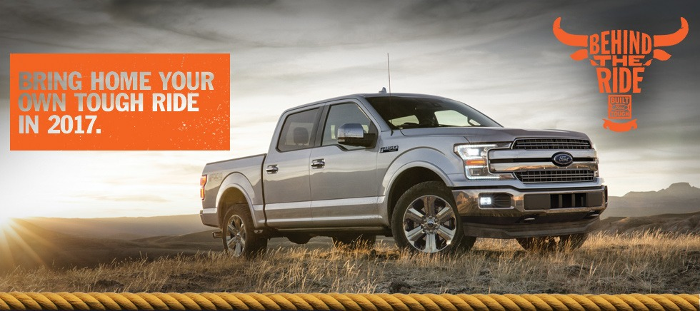 2017 Built Ford Tough Behind the Ride Sweepstakes