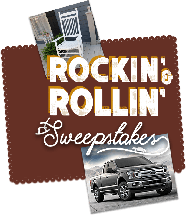 Cracker Barrel Old Country Store Rockin' & Rollin' Sweepstakes