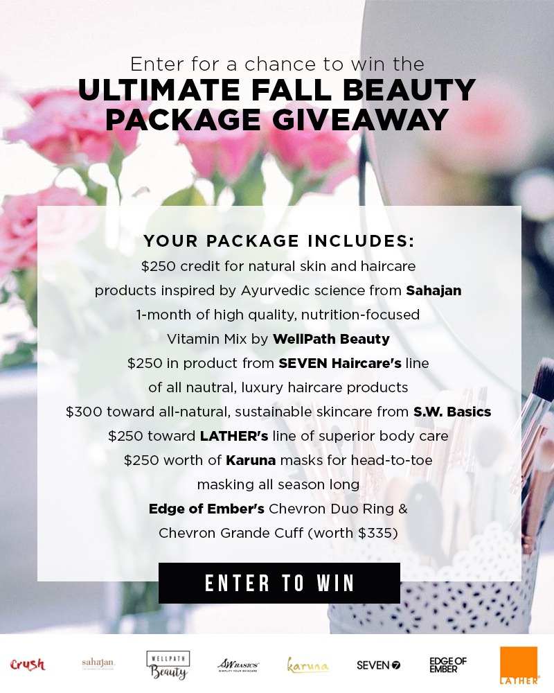 Ultimate Fall Beauty Package Giveaway