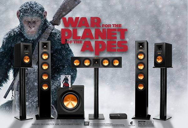Klipsch War For The Planet Of The Apes Sweepstakes