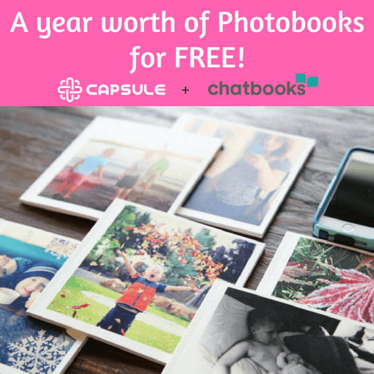 Win FREE Chatbooks (Photobooks) For an Entire Year
