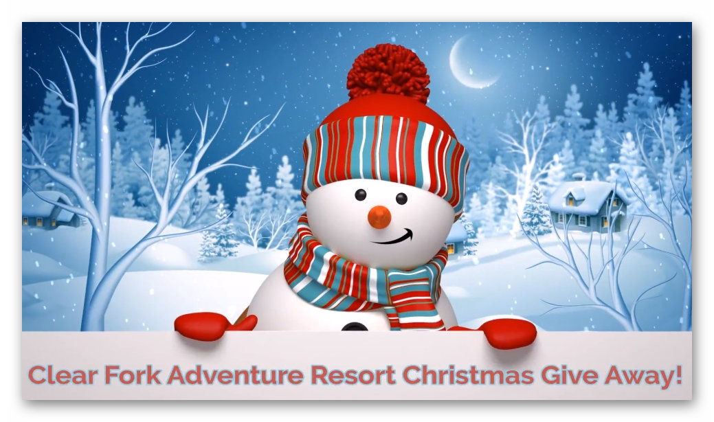 Clear Fork Adventure Resort Christmas Giveaway