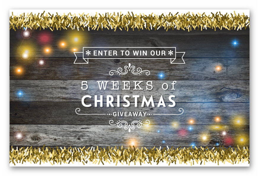 Discount Tire 5 Weeks of Christmas Giveaway