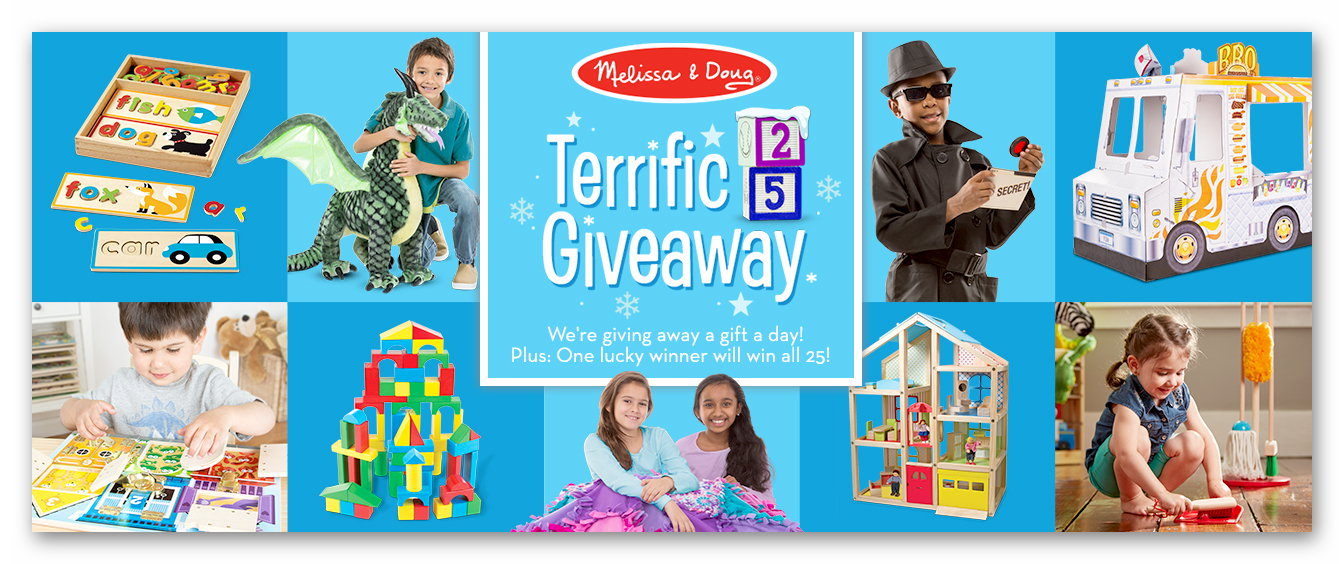 Melissa & Doug Terrific 25 Giveaway