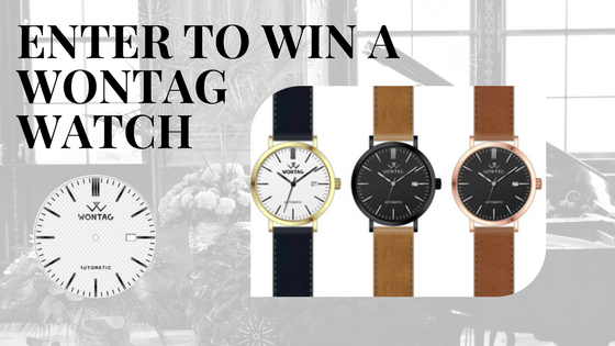 Win a Wontag Watch Sweepstakes