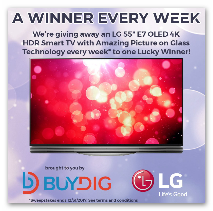 "Win a 55"" LG Smart TV"