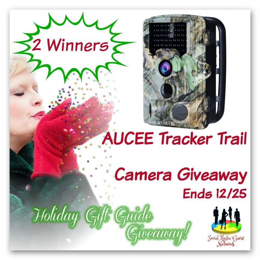 Win an AUCEE Tracker Trail Camera Giveaway
