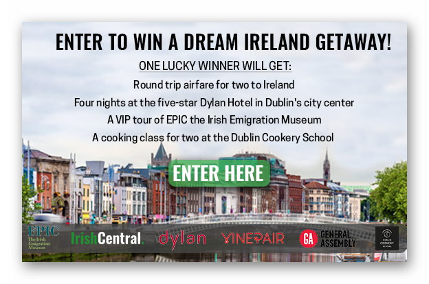 Win a Dream Ireleand Getaway