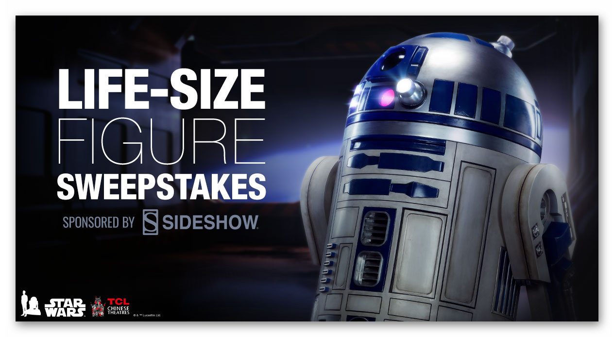 Life-Size R2-D2 Figure Sweepstakes