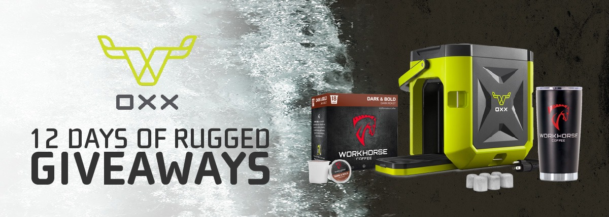 OXX Twelve Days of Rugged Giveaways