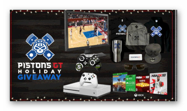 Pistons GT Holiday Giveaway