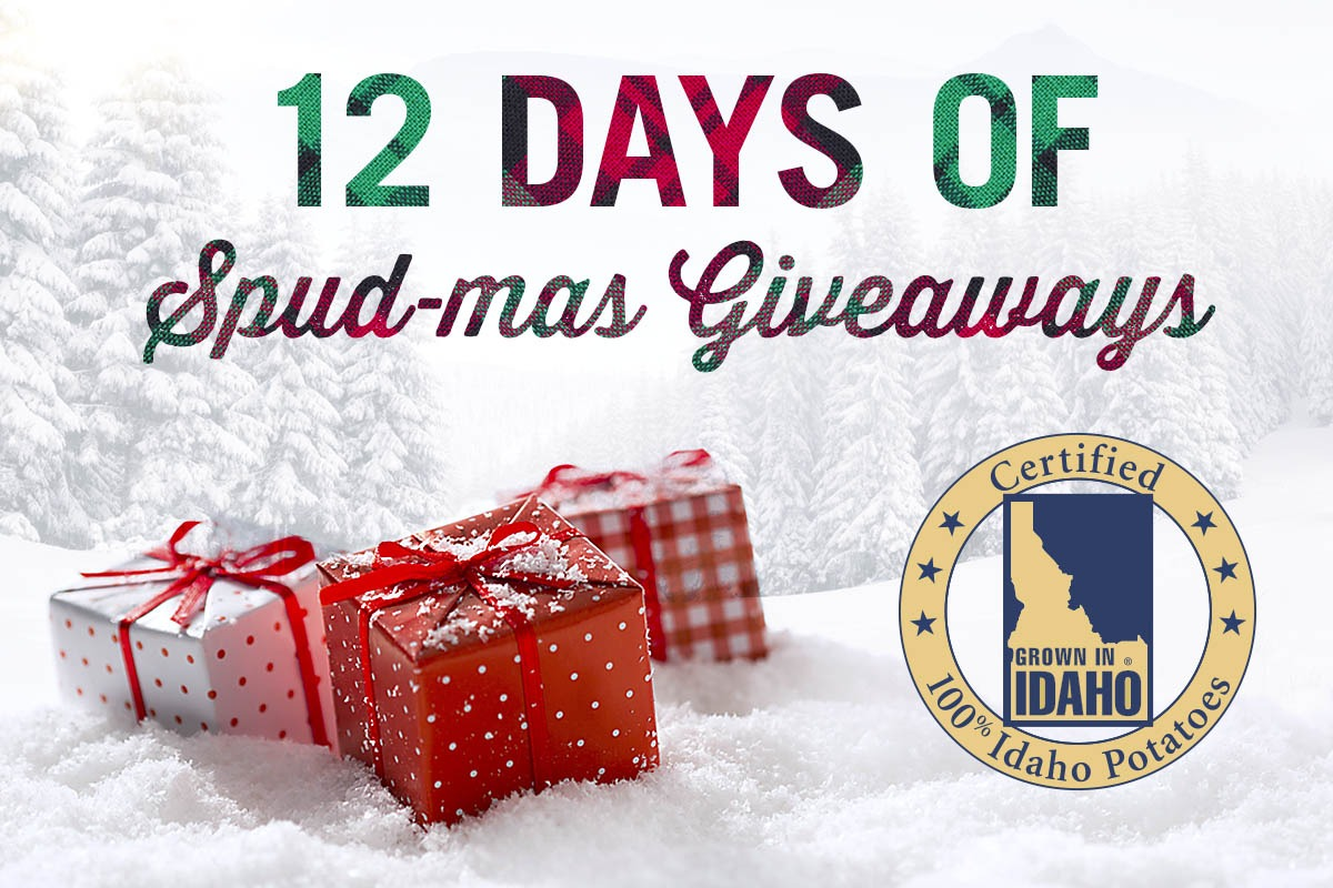 Idaho Potato 12 Days of Spud-mas Giveaways