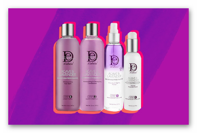 Win Design Essentials Agave & Lavender for Constantly Moisturized Curls