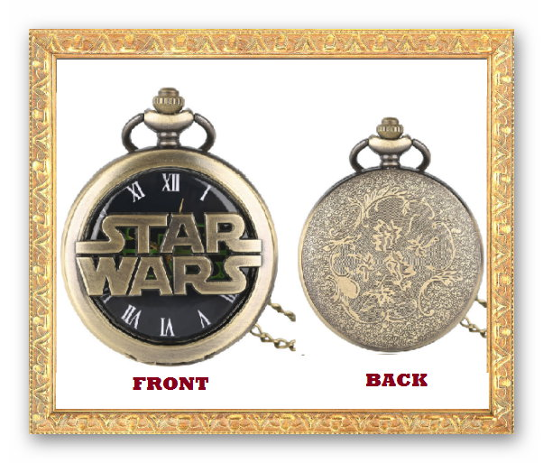 Win 1 of 5 Star Wars Pocket Watches