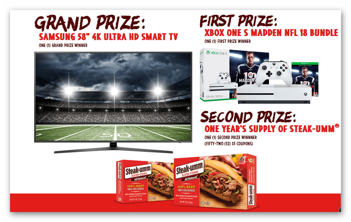 """Win a 58"""" 4K HDTV, Xbox One Bundle, and More"""