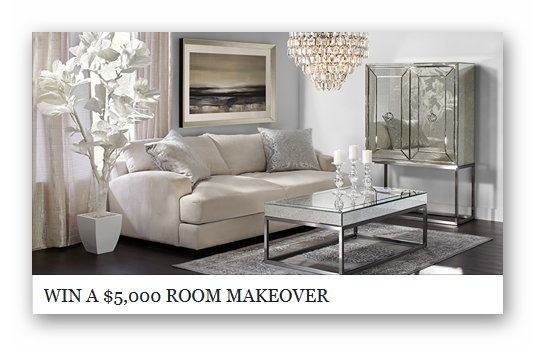 Z Gallerie Room Makeover Sweepstakes